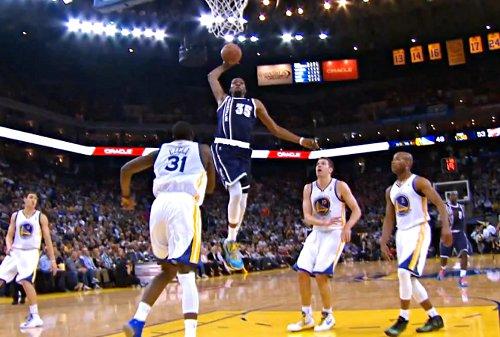 Top 5 : Russell Westbrook et Kevin Durant font la misère aux Warriors