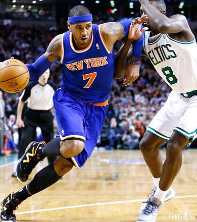 Un Knicks-Celtics au Madison Square Garden pour Noël