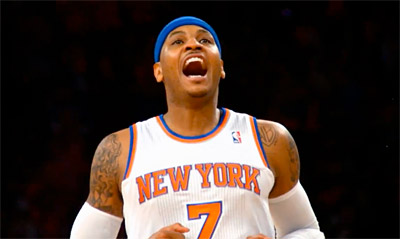 Happy Birthday Carmelo Anthony ! Son Top 10 en carrière