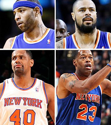 S.O.S raquette en détresse aux New York Knicks
