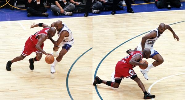 Michael Jordan a-t-il poussé Bryon Russell sur 'The Last Shot' ? MJ répond