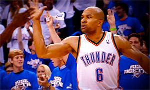 Derek Fisher est un exemple pour Westbrook