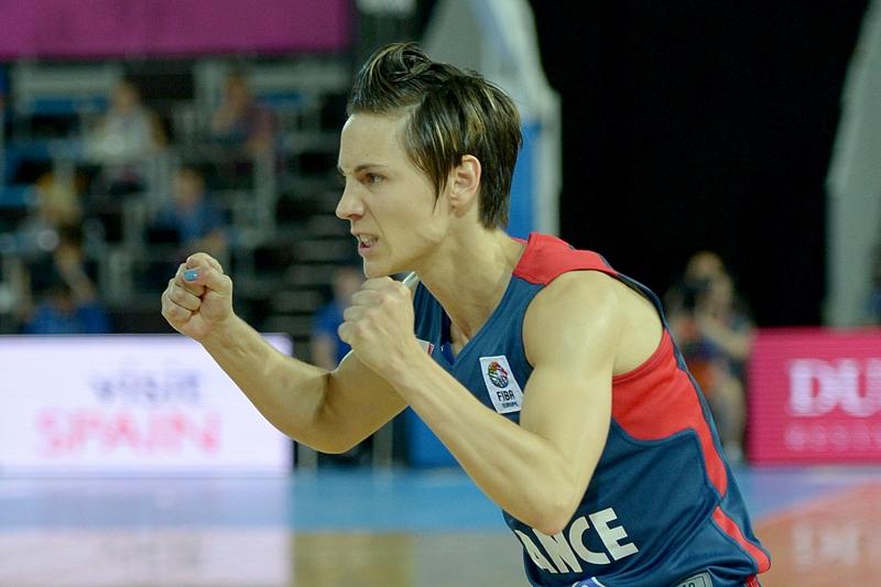 Eurobasket - Quart de finale : Céline Dumerc sort les Bleues d'un mauvais pas !