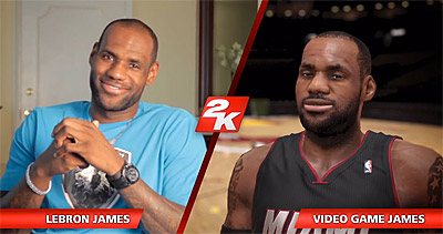 LeBron James a choisi la bande son du jeu NBA 2K14