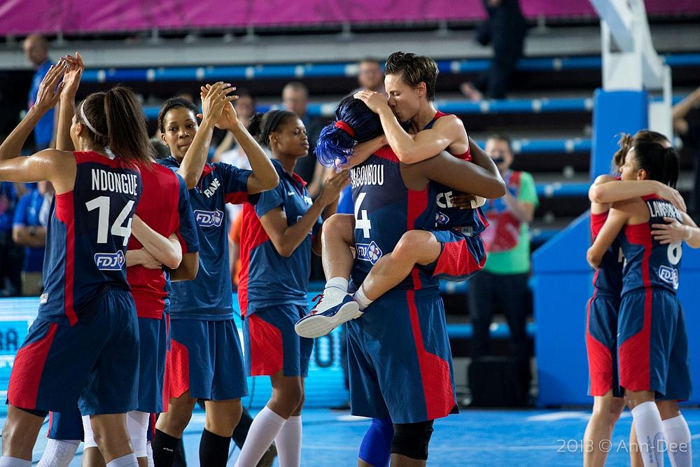 La France en finale de l'Eurobasket !