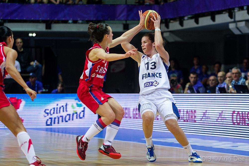 Eurobasket : La France en promenade face à la Serbie