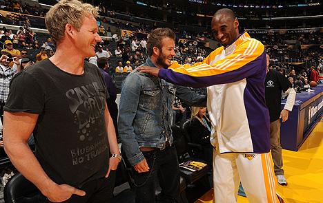 Quand Kobe demande conseil à David Beckham