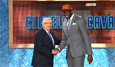 Gros succès pour la NBA Draft 2013