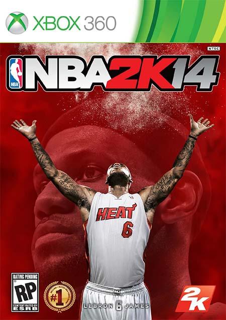 NBA 2K14 : LeBron James en couverture du jeu + vidéo du trailer