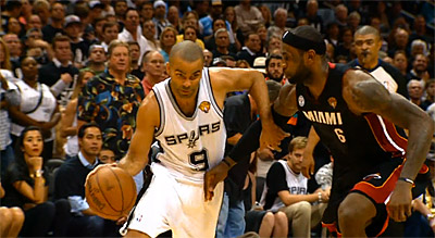 Highlights : Tony Parker (21 pts, 7 passes) n'a pas suffi