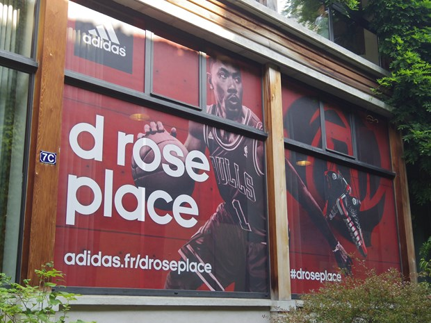 Derrick Rose et son loft parisien, le D-Rose Place