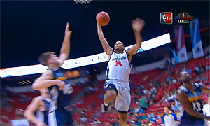 Glen Rice Jr lâche le plus gros dunk de la journée