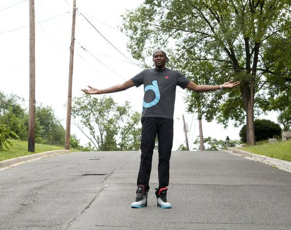 Vidéo Nike : Kevin Durant, retour aux sources