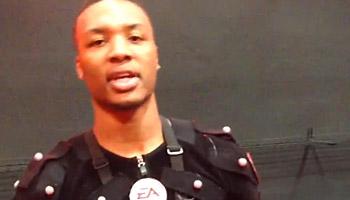Vidéo : Les motion captures de Damian Lillard pour NBA Live 14