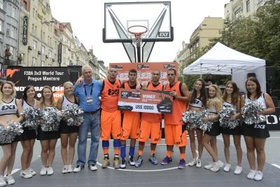 FIBA 3x3 World Tour: le Prague Masters couronne les Serbes de Novi Sad