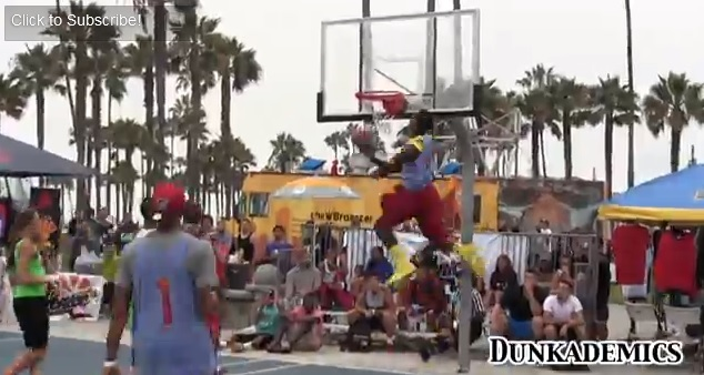 Vidéo : Dunks à gogo lors d'un Celebrity Game à Venice Beach