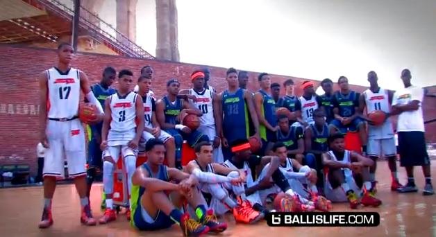 Mix : Le Under Armour Elite 24 et les meilleurs lycéens investissent Brooklyn