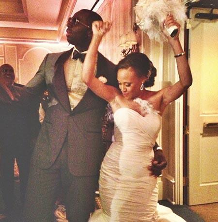Rajon Rondo s'éclate au mariage de Brandon Bass