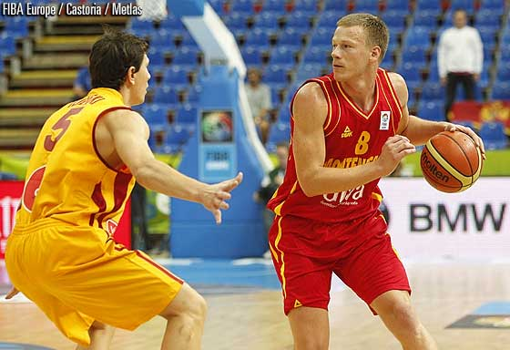 Euro : Victoire épique du Monténégro sur la Macédoine
