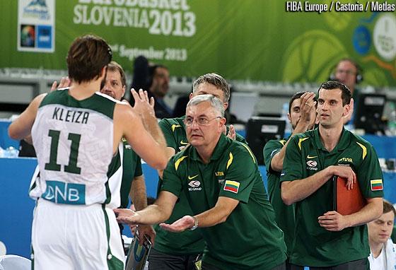Jonas Kazlaukas quitte le poste de sélectionneur de la Lituanie