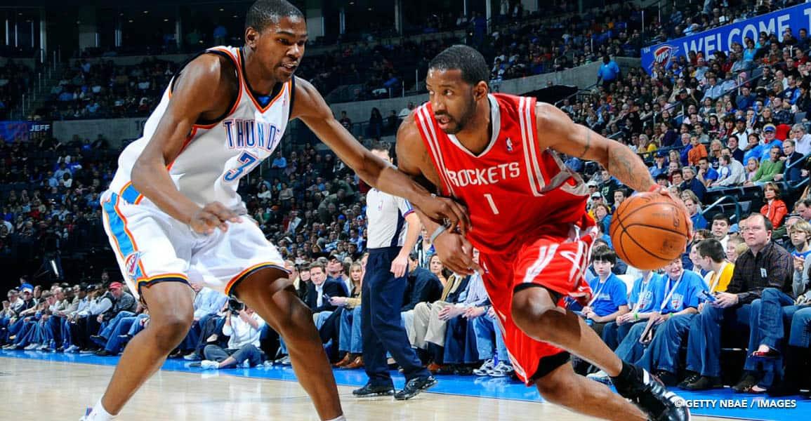 NBA Tracy McGrady Kevin Durant