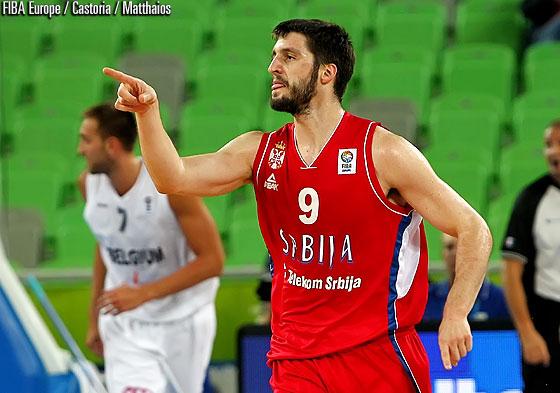 Stefan Markovic (Serbie) forfait contre la France