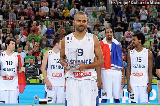 Tony Parker MVP indiscutable de l'Euro