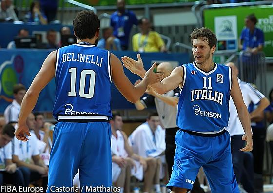 L'Italie s'arme en NBA pour l'Euro