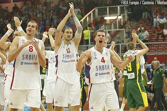 Euro : La Serbie prend le meilleur sur une triste Lituanie