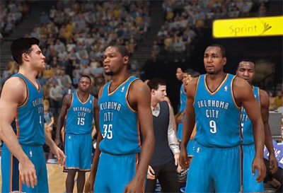 NBA 2K14 sur PS4 : Gameplay et ScreenShots