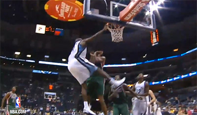 Top 10 : mega posters pour Jeff Green et Quincy Pondexter