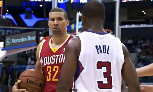 Francisco Garcia essaye de tuer Chris Paul par le regard