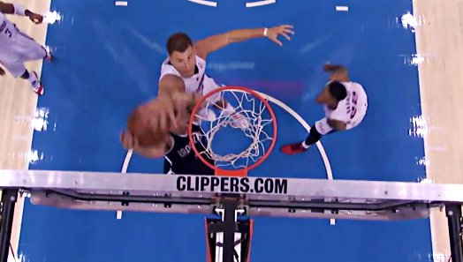 Top 10 : Griffin fait la totale, Stoud au dunk, Rubio en magicien