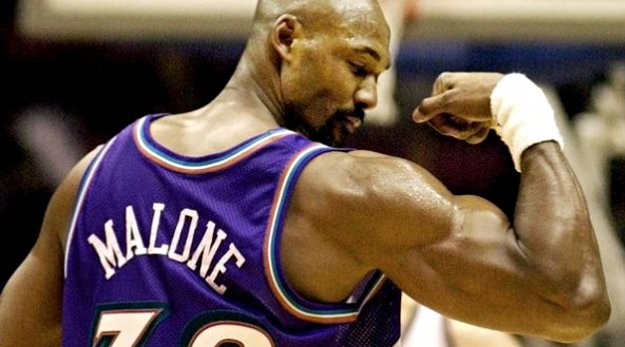 Vintage : Karl Malone plante son record en carrière (61 points)