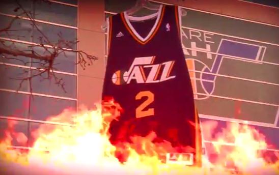 Vidéo : Le Jazz se moque de Kobe Bryant