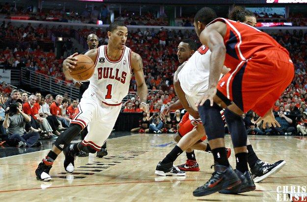 Derrick Rose s'entraîne avec l'équipe estivale des Bulls