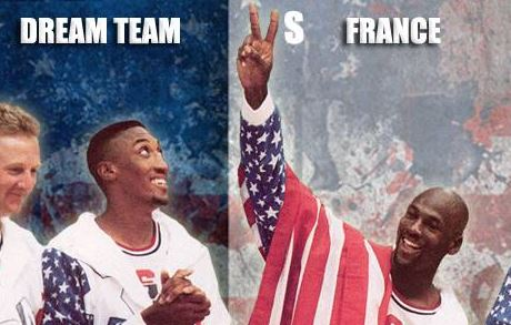 Exclu : Le match Dream Team Vs France de 92