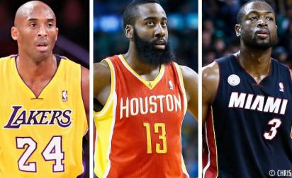 Élisez le meilleur deuxième arrière NBA de 2013