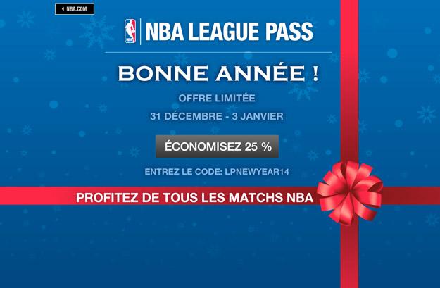 League Pass : -25% pour la nouvelle année