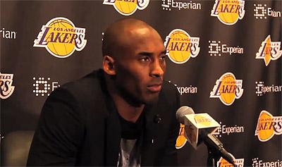 Kobe Bryant : « Je dois revenir pour l'équipe  »