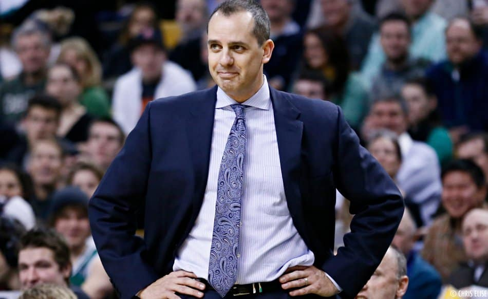 Les Lakers étudient la candidature de Frank Vogel