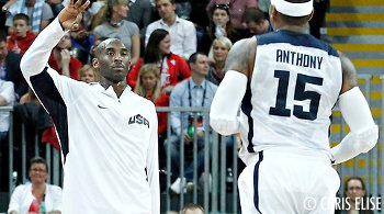 Kobe Bryant va tenter de recruter Carmelo Anthony