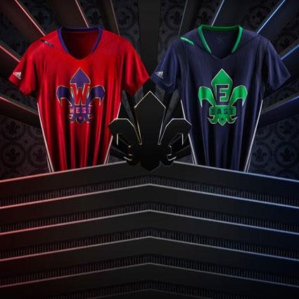 Adidas dévoile officiellement les uniformes du ASG 2014