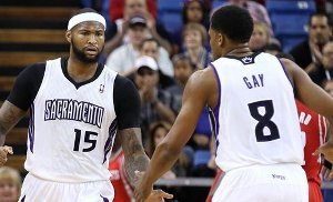 Highlights : les 67 pts du duo Cousins - Gay