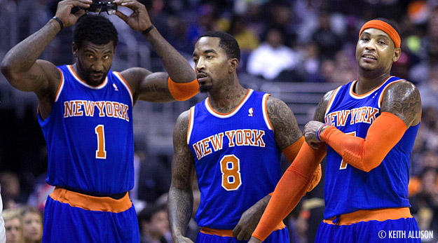Melo - Stoudemire, nouveau ticket gagnant des Knicks