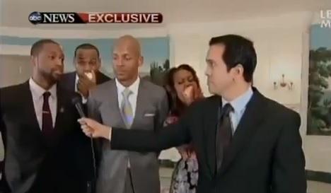 Le Heat et Michelle Obama font des
