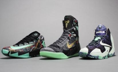 Nike dévoile sa collection All-Star Game