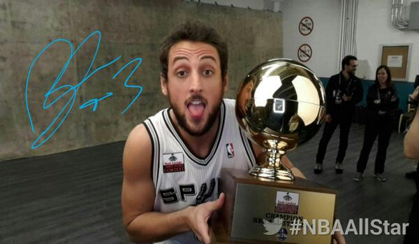 Three-Point Contest : Marco Belinelli sera bien présent