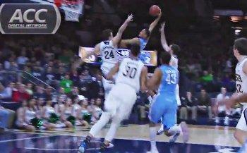 Vidéo : JP Tokoto trop rapide et trop haut pour Notre Dame