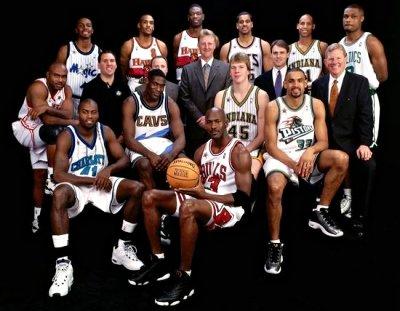 Vintage : Michael Jordan et Glen Rice rentrent dans l'histoire du ASG